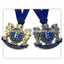 Kundenspezifische Produktion Metall Goldmedaille Auszeichnungen