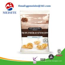 Top Zip Plastic Bag/Round Bottom Plastic Food Packaging Bag/