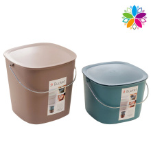 Plastic Multifunctional Storage Bucket with Handle (SLT005)