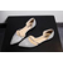 Low Price Fancy Lady Shoes 2016 Flat Sequin Footwear pour femme
