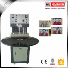 Heat Manual Paper Card Plastic Blister Sealing Packaging Machine For Toothbrush