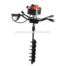82cc 3200w Hand-Held Manuel Fence Post Hole Digger Perceuse à main manuelle à la terre