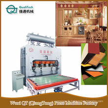 Panneau de particules Panneau de levage Machine de presse en bois