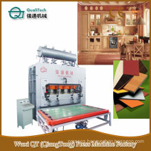 Particle Board Cylinder Lift Wood Press Machine