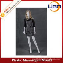 Heiße Verkaufsart und weise Plastikmannequinform mit Ei-Kopf