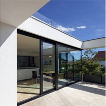 Aluminum Tilt Sliding Door with Security Screen