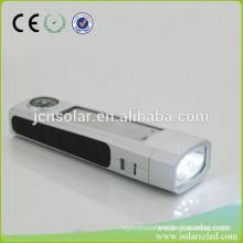 Low price hot-sale solar power fluorescent lamp,powerful solar hand lamp