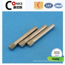 Fabricação do fabricante de China Pino serrilhado fazendo à máquina do CNC da alta qualidade