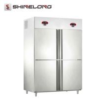R294 4 puertas refrigerador y congelador de fancooling de lujo de la temperatura doble
