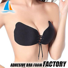Push up strapless silicone bra 34 size bra photo