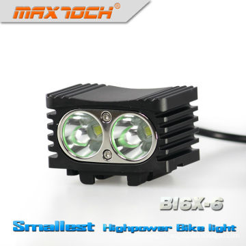 Maxtoch BI6X-6 2000LM 4*18650 Pack Intelligent LED 2* cree Xm-l Bike Light