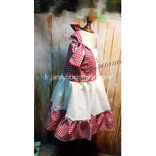 WDW Remake Girl Broderie Robe
