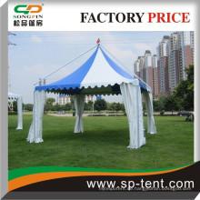 Romantisches Outdoor-Zelt mit PVC-Fenster für Party