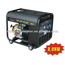 black plastic fuel tank 8kW Inverter gasoline generator (WH8800i)