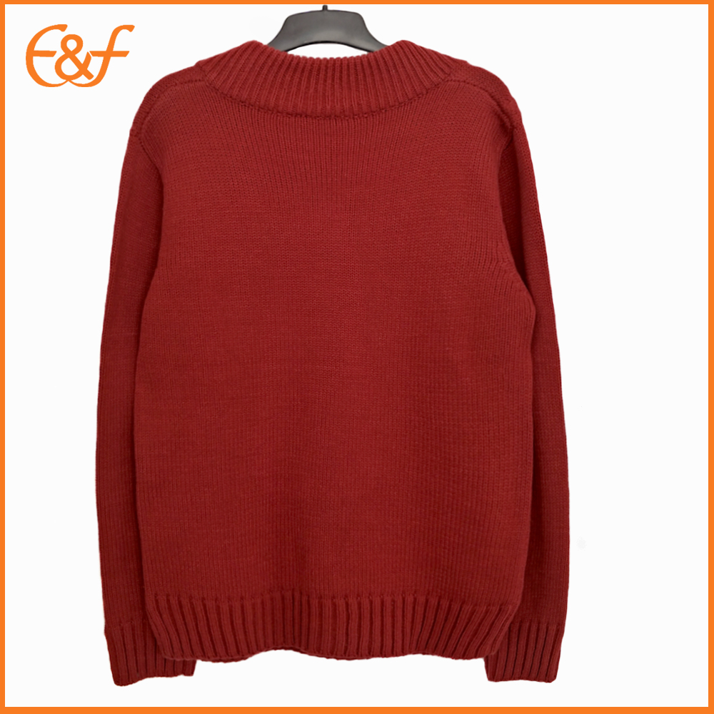 Heavy gauge sweater