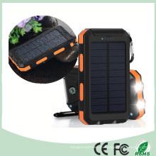 Водонепроницаемый двойной USB мобильный телефон солнечное зарядное устройство с двойной светодиодной свет (СК-6688)