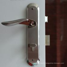 Designers Impresstions Modern Satin Nickel Euro Door Lever Hardware Door Passage Lever