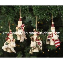 Presentes Santa Escultura, Ornamento Pendurado De Natal