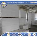 preço de fábrica do material de construção folha plástica do forex do PVC