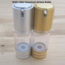 30ml Aluminum Airless Emulsion Press Bottle