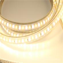 Высокая яркость 110 в 120 В 230 В светодиодные ленты с контроллером диммирования 5050 водить SMD 60leds/м полосы света для освещения ландшафта