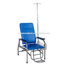 Medical manual adjustable blood dialysis chair / blood donor chair