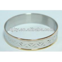 Aço inoxidável atacado braceletes pulseiras para meninas