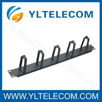 Chinese Professional for Computer Cable Management 19 Inch Cable Manager With 5pcs Metal Ring supply to Barbados Exporter