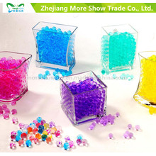 Décoration de maison de mariage de perles de gelée de gel multicolore de gel de terre de cristal
