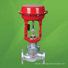 Válvula reguladora de presión neumática tipo globo (ZJHP)