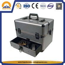Caixa de armazenamento de arma de alumínio de mão de alumínio dupla face