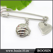 13 anos de fabricante de jóias de prata por atacado de Metal broche Pin # 5901