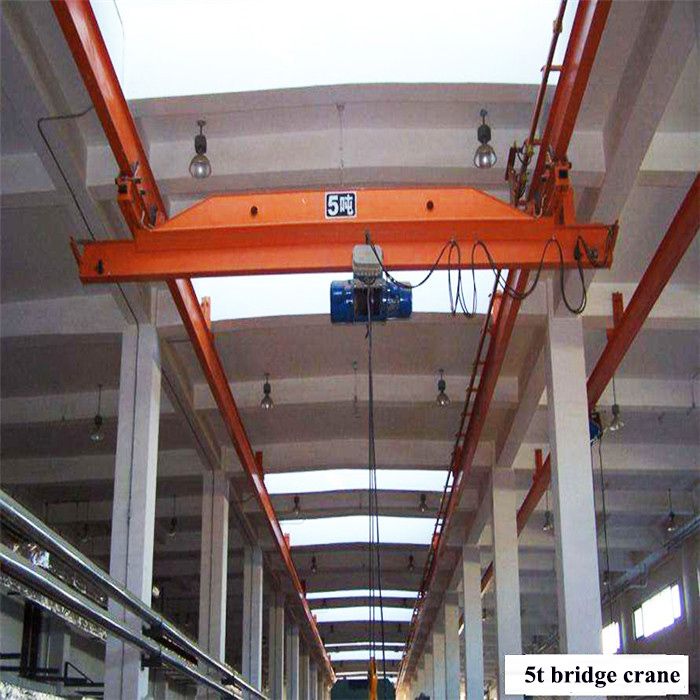 1 ton single girder suspension bridge crane