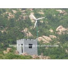 2015 nuevo desgin técnica viento turbina 150w-500kw