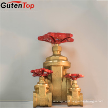 Gutentop 1/2-6inch 2018 New Style Brass Gate Valves Italy Stock Product