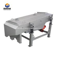 Big capacity linear vibrating screen equipment for sale