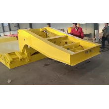 3 Axle Hydraulic Low Bed Trailer
