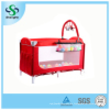 Cama colorida popular del juego del bebé con la segunda capa (SH-A12)