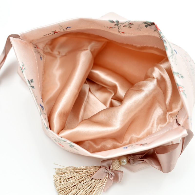 Satin Bag With Tassel