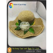 Mão fazer frowers chapéu de palha / chapéu de palha JAZZ