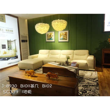 Sofa Sectional Kulit Modern