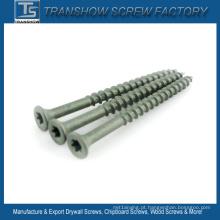 Parafusos de decking cerâmicos de aço duro C1022