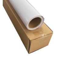 Vinil de PVC autoadesivo branco Eco Solvent