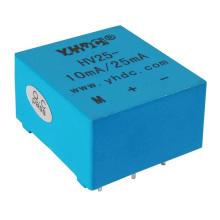 10mA/25mA DC AC pulse voltage measuring encapsulated hall voltage sensor