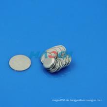 Neo Seltene Erden Kleidung pvc beschichteten Magnetknopf