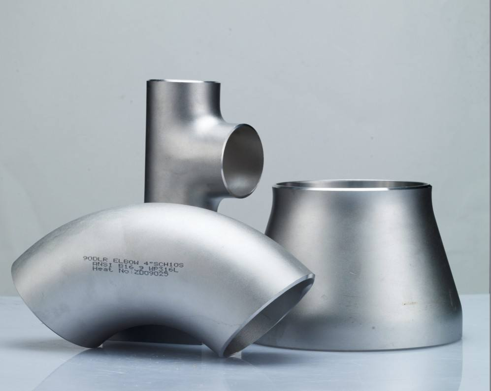 stainless steel elbow reducer tee
