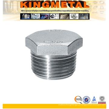 Plug Masculino Hexagonal De Aço Inoxidável