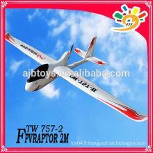 FPV raptor EX (757-2) epo foam rc avion avion rc caméra longue portée vidéo UAV rc avion camera