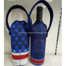 Promotional Printed Neoprene Wine Bags