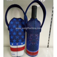 Promotional Printed Neoprene Wine Bags